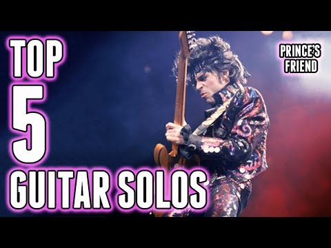 Top 5 Prince Guitar Solos (with Mr. Ant)