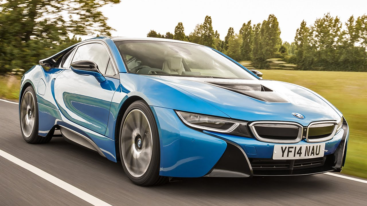 Attractive Radical New BMW I8 Hybrid Sports Car Driven
