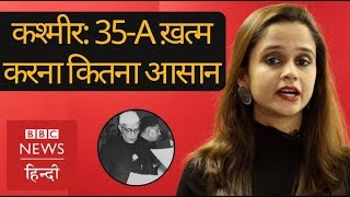 Kashmir: Article 35A and its implications (BBC Hindi)