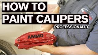 How To Custom Paint Brake Calipers Properly: AUDI R8