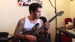 How to play 'Seize The Day' by Avenged Sevenfold Guitar Solo Lesson w/tabs