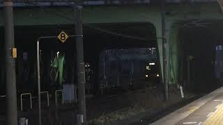 [連番‼️ミュー重連‼️]名鉄2000系ミュースカイ 2003f+2004f(ミュースカイ中部国際空港行き)金山駅 入線‼️