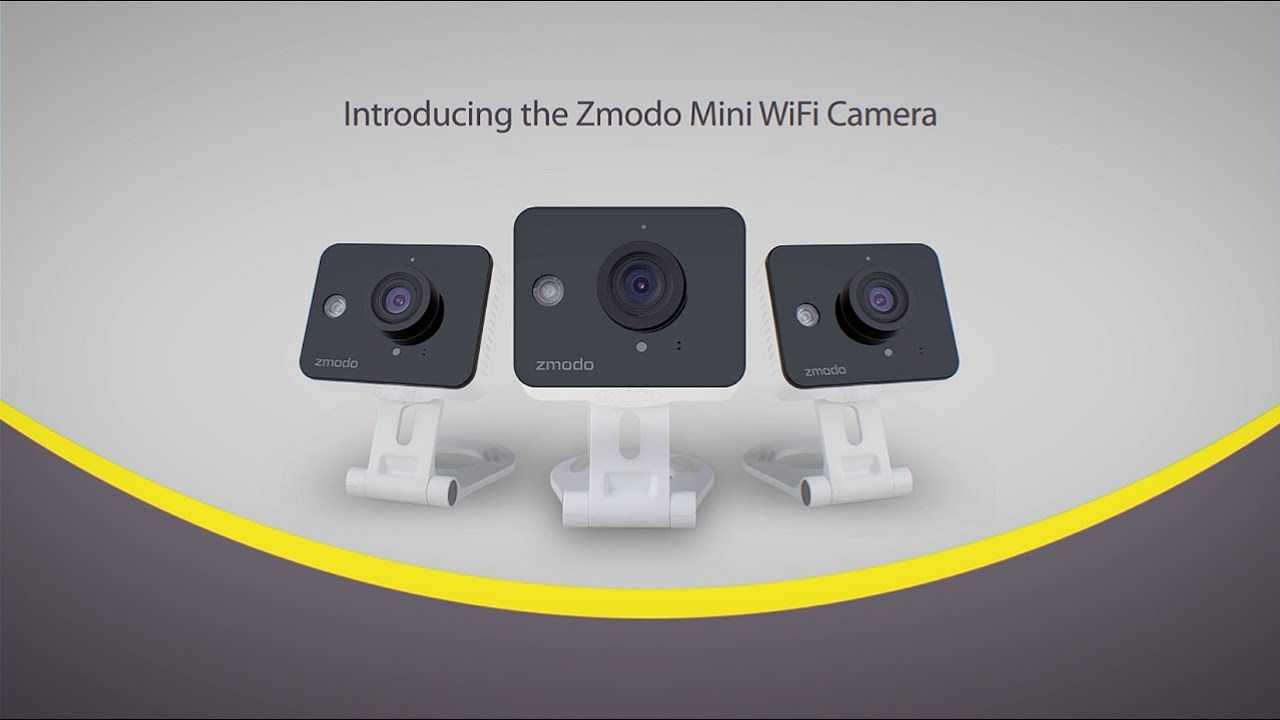Geartek   Zmodo Wireless CCTV Two-Way Audio Home Security Camera
