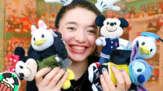 Disney NuiMOs! Disney Store Display & Detailed Plush Review W/ Outfits! Toy Hunt Vlog & Haul