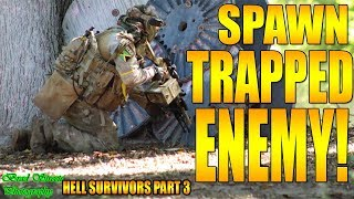 WOLF SPAWN TRAPS THE ENEMY!!!!