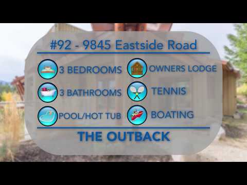 #92 9845 Eastside Road at the Outback Waterfront Resort in Vernon BC