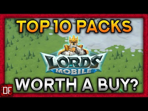 Top 10 Packs That Are WORTH It! - Lords Mobile