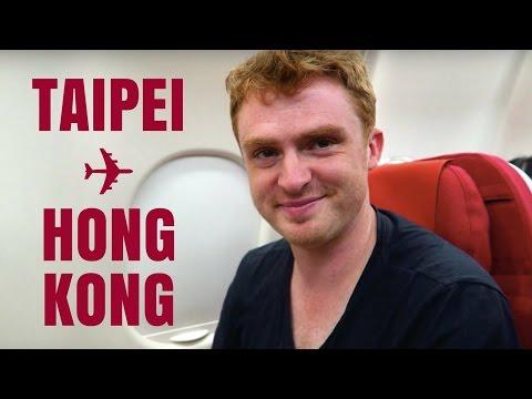 Taipei, Taiwan to Hong Kong travel vlog