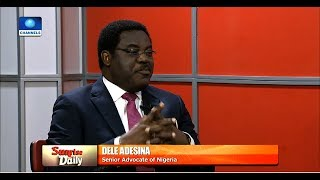 'Nigeria's Constitution Is The Problem', Senior Lawyer Backs Calls For Amendment  Sunrise Daily 