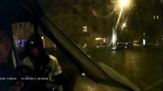 Газель в центре Москвы,без пропуска)))(, 2013-01-11T16:47:33.000Z)