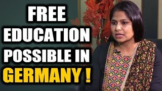 Free or 2 to 3 Lakhs/ Yr fees POSSIBLE in Germany/Europe ? Explains-Europe Study Centre - Bangalore