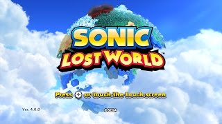 Sonic Lost World (Wii U) playthrough ~Longplay~