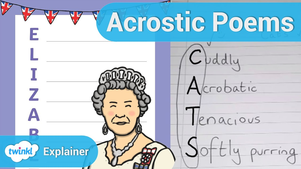 hight resolution of How To Write An Acrostic Poem - YouTube