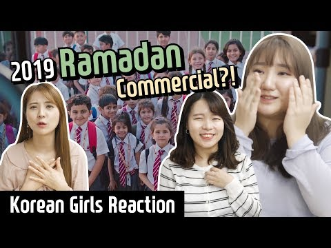 Korean girls react to 2019 Ramadan commercial for the first