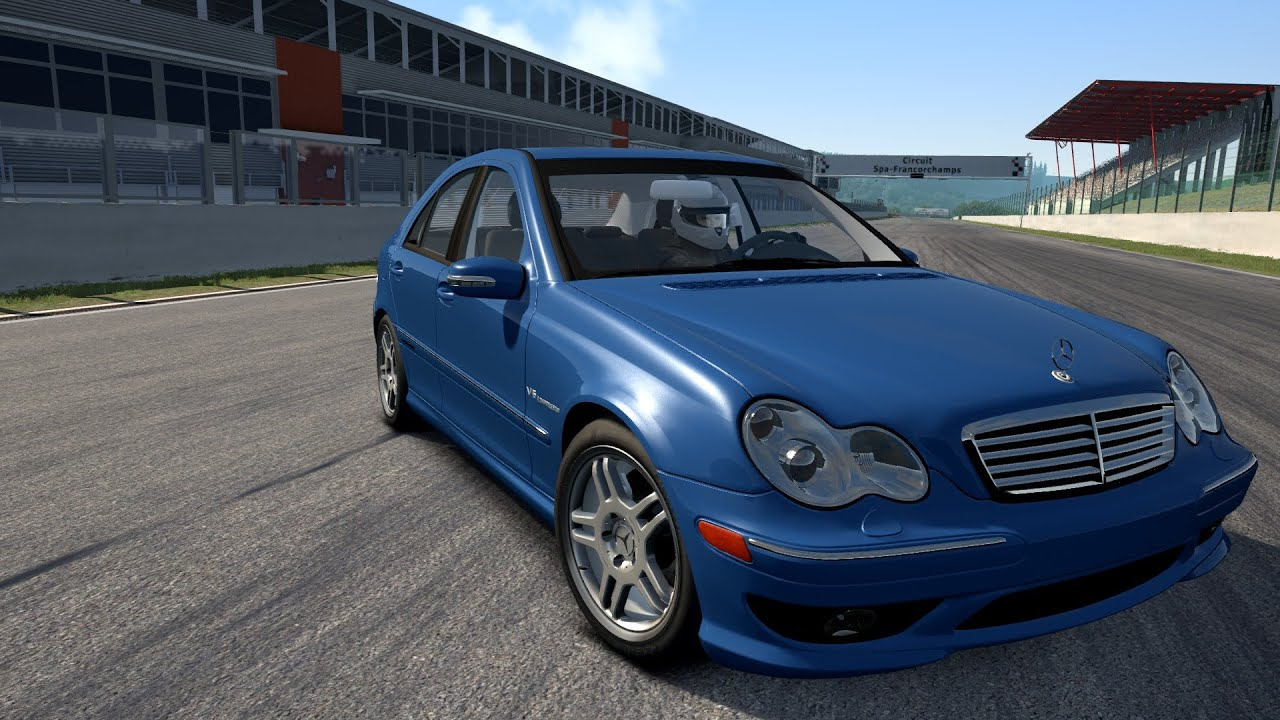 Assetto Corsa Mercedes Benz C32 Amg Download Youtube