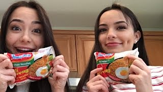 Instant Noodle Challenge - Merrell Twins thumbnail