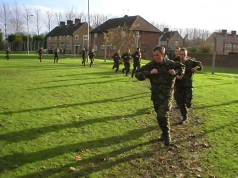 Bayonet training