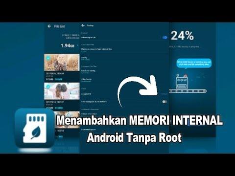 5 Cara mudah menambah memori internal Android tanpa menghapus data di galeri dan tanpa menghapus apl.