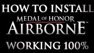 How To Install Medal of Honor Airborne-HATRED+Physx FIX [WORKING 100%]