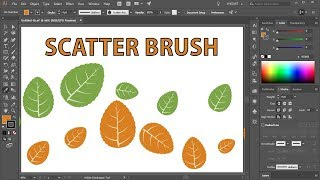 How to Create a Leaf Scatter Brush in Adobe Illustrator