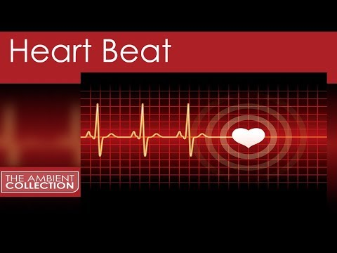 Sleep Sounds -1 Hour: Heartbeat Sound of Human Heart and Pulse - Sleep Video for Baby and Adults