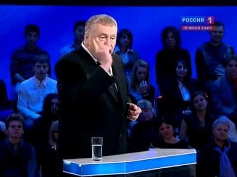 Жириновский нахамил Пугачёвой на дебатах 2012