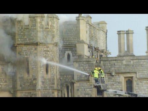 The Devastating Fire That Left Windsor Castle in Shambles