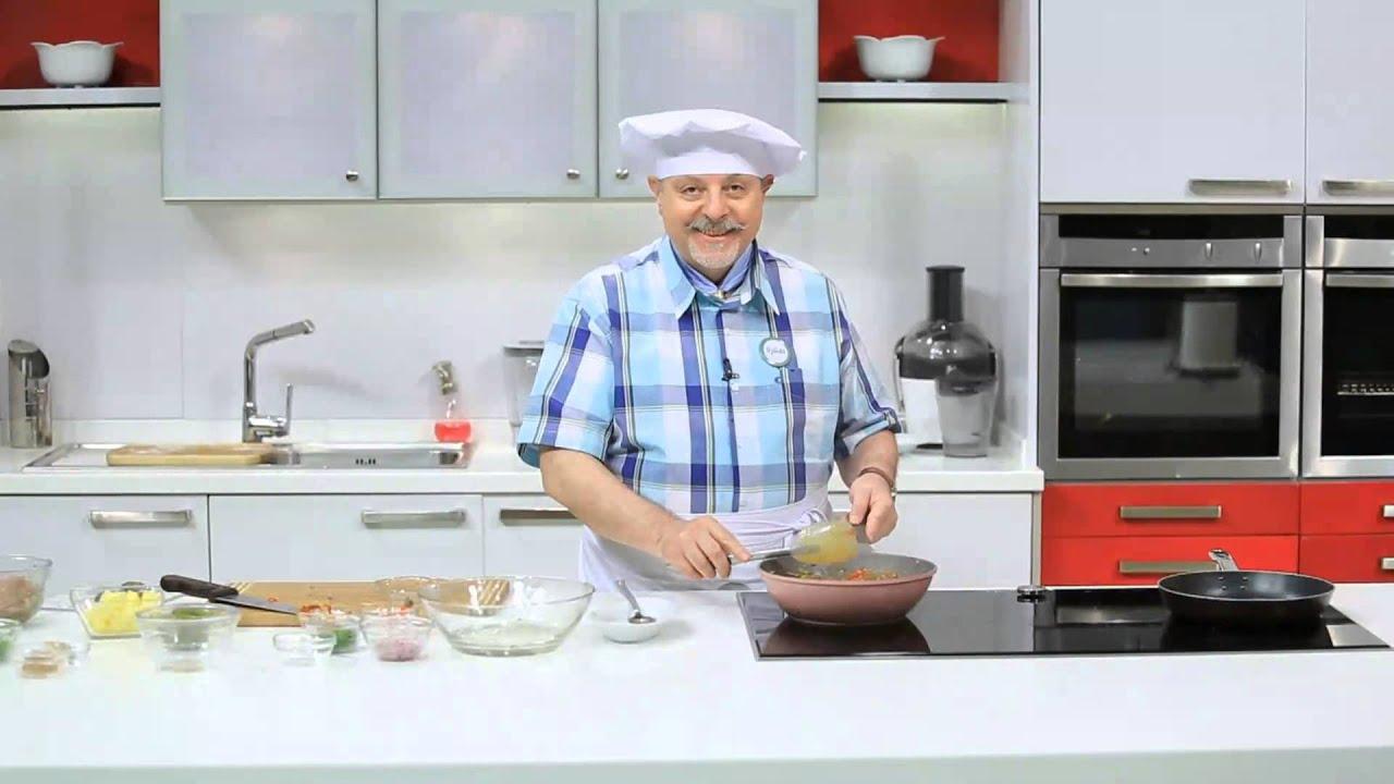كرات اللحم بصوص الطماطم و الأنشوجة - جلاش سمبوسك بكرات اللحم : طبخة ونص حلقة كاملة