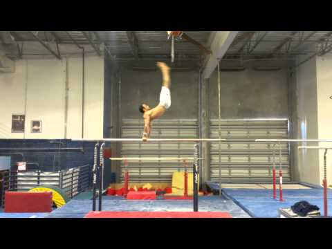 Danell Leyva Pbars Double Front Half Out