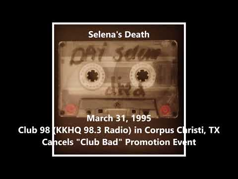 Radio Station Clip On Day Of Selena's Death (03-31-1995)