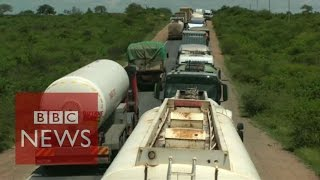 Kenya: Drivers stuck in