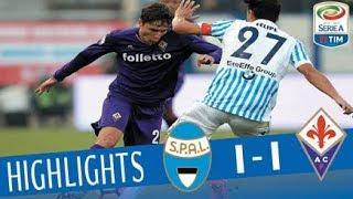 Spal - Fiorentina 1-1- Highlights - Giornata 13 - Serie A TIM 2017/18