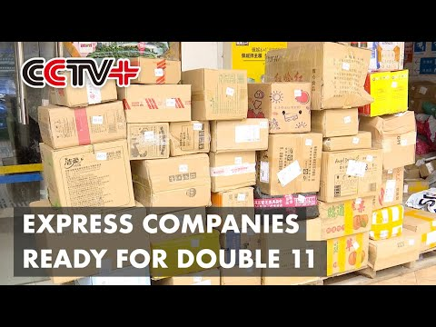 Express Companies In China Ready For Double 11 Shopping Festival