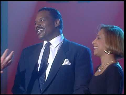 American Bandstand 1988- Interview Alexander O'Neal and Cherrelle