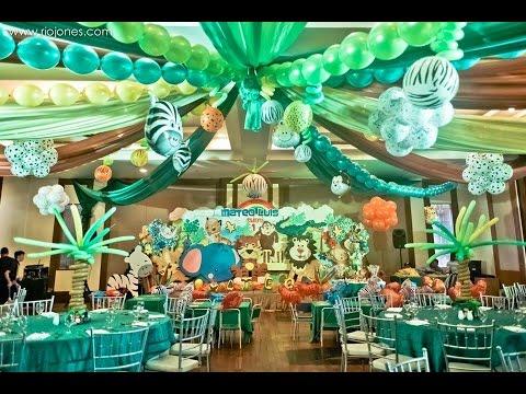Mateo S Safari 1st Birthday At The Manila Polo Club Youtube