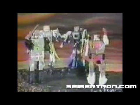 Transformers G1 Headmasters Autobots 1987 commercial