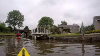 SWKA sponsored paddle on Brecon and Monmouthshire canal