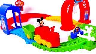 Mickey Mouse Train Toy Playset for Children