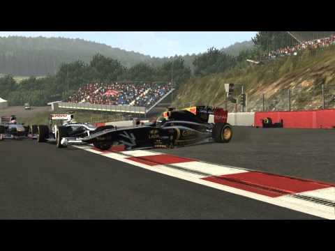 50 crashes in F1 2011