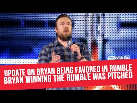 Update On Daniel Bryan Being Favored In The Rumble; Bryan Winning The Rumble Pitched By Creative