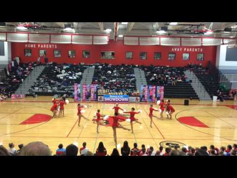 University of Wisconsin Dance Team Nationals performance at Badgerette Pom