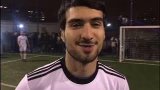 Qarabag ultras playing football with Qarabag FK | Qarabağ FK vs İmarət Tayfa / Futbol matçı