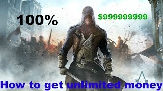 How To Get Unlimited Money On Assassin's Creed Unity For PC (Working)