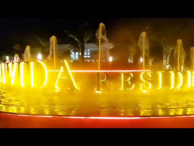 Phun nước - Phun sương nghệ thuật tại dự án Lavida - Vũng Tàu