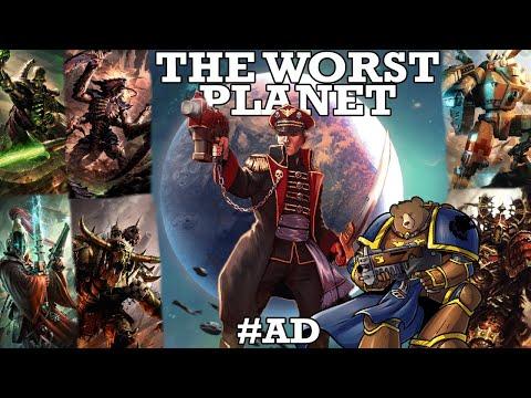 The Worst Planet - Warhammer 40k Gladius w/ Digby, Zoran, Digi & Cadians |
