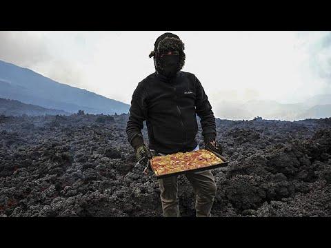 شاهد: طاه يقوم بإعداد البيتزا فوق صخور بركان غواتيمالا  - نشر قبل 4 ساعة