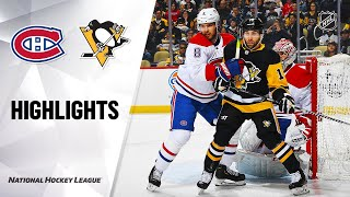 Nhl Highlights   Canadiens @ Penguins 2/14/20
