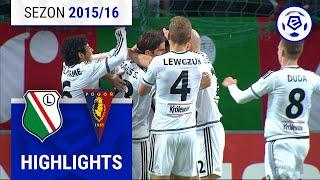 Legia Warszawa - Pogoń Szczecin 1:0 [skrót] sezon 2015/16 kolejka 15