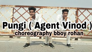 Pungi ( Agent vinod ) Bollywood dance video ( choreography bboy rohan )