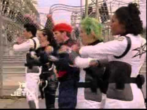 Power Rangers Wild Force - Reinforcements from the Future - Time Force and Wild Force Teamup Morphs